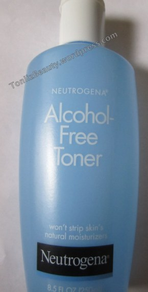 Neutrogena Alcohol Free TonerReview