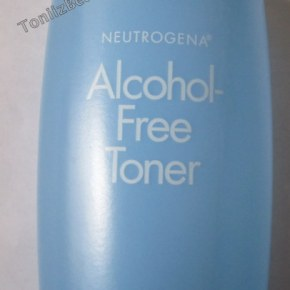Neutrogena Alcohol Free Toner Review