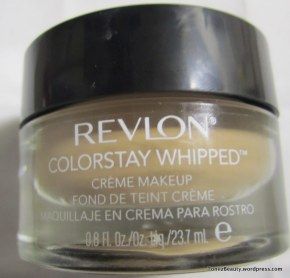 Revlon Colorstay Whipped Creme FoundationReview