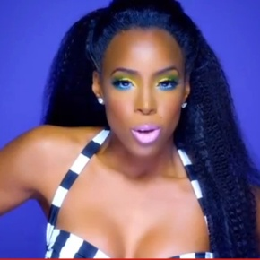 "Official Makeup Tutorial for Kelly Rowland's ""Kisses Down Low"" Video from Sheika Daley"