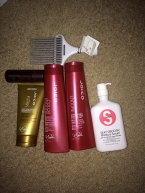Current Natural Hair Products